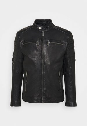CRUISE ACTION - Leather jacket - black
