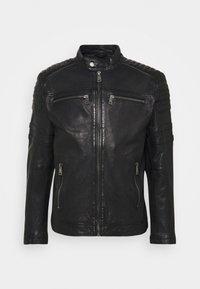 Freaky Nation - CRUISE ACTION - Leather jacket - black - 5
