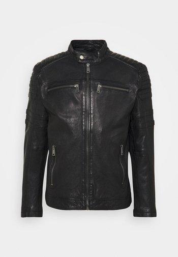 CRUISE ACTION - Leather jacket - black