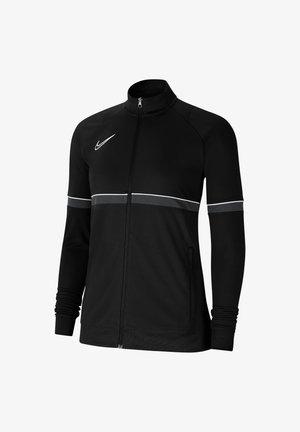 Trainingsjacke - schwarzweissgrau