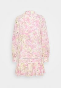 River Island - HIGH NECK BROIDERY DRESS - Day dress - multi-coloured - 4