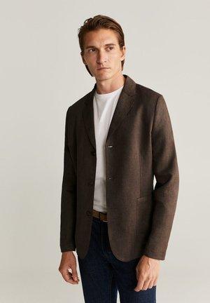 BISLEVA - Blazer jacket - braun