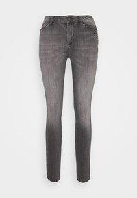 KARL LAGERFELD - CHAIN - Jeans Skinny Fit - grey denim - 4