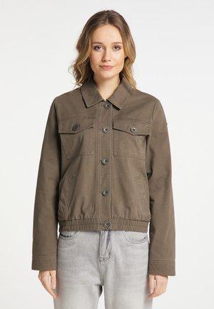Summer jacket - grau oliv