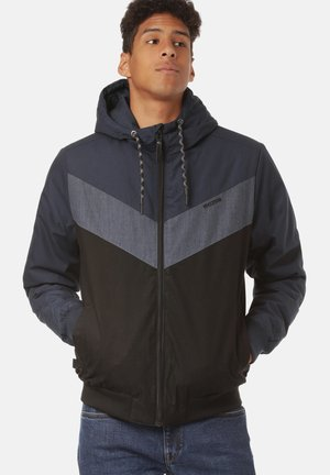 DUNS - Winter jacket - navy / black