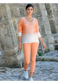 Alba Moda - Long sleeved top - off-white,pfirsich - 1