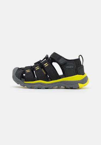 NEWPORT NEO H2 UNISEX - Walking sandals - black/evening primrose