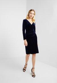 Lauren Ralph Lauren - RADIANT DRESS - Cocktail dress / Party dress - lighthouse navy - 1