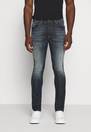 THOMMER - Vaqueros slim fit - dark blue denim