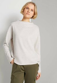 TOM TAILOR DENIM - Sweatshirt - creme beige melange - 0