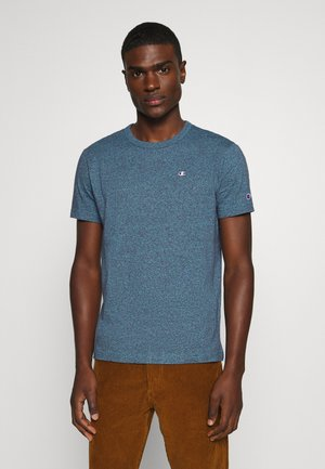 MELANGE CREWNECK - Camiseta estampada - mottled blue