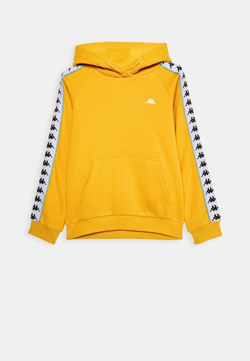 Kappa - HARRO UNISEX - Hoodie - ceylon yellow