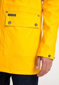 Schmuddelwedda - Waterproof jacket - mustard yellow - 3