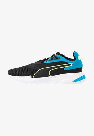 JARO - Sports shoes - black/sharp green/dresden blue