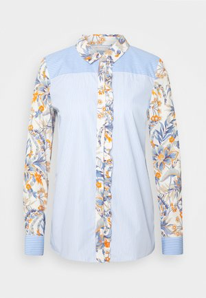 BLOUSE PRINT MIX - Blouse - dove blue