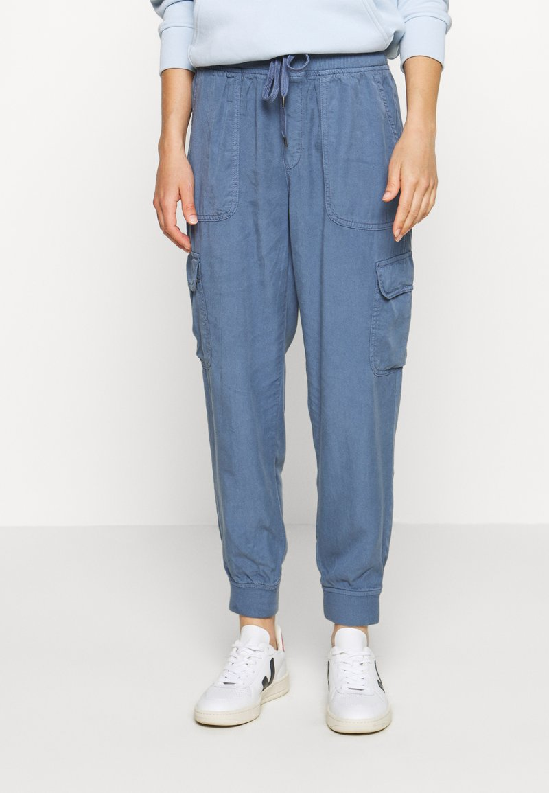 American Eagle - Cargo trousers - blue