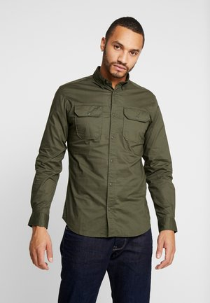 JCOGERALDTON SHIRT MIX SLIM FIT - Shirt - forest night