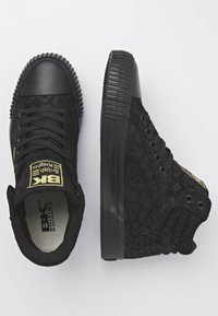 British Knights - DEE - Sneakers hoog - black leopard/gold/black - 2