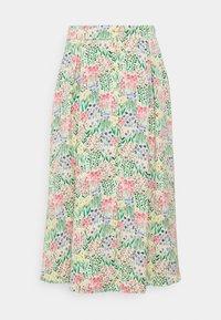 SIGRID BUTTON SKIRT - A-line skirt - multicolor