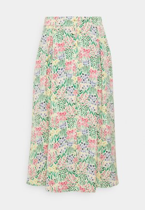 SIGRID BUTTON SKIRT - A-line skjørt - multicolor