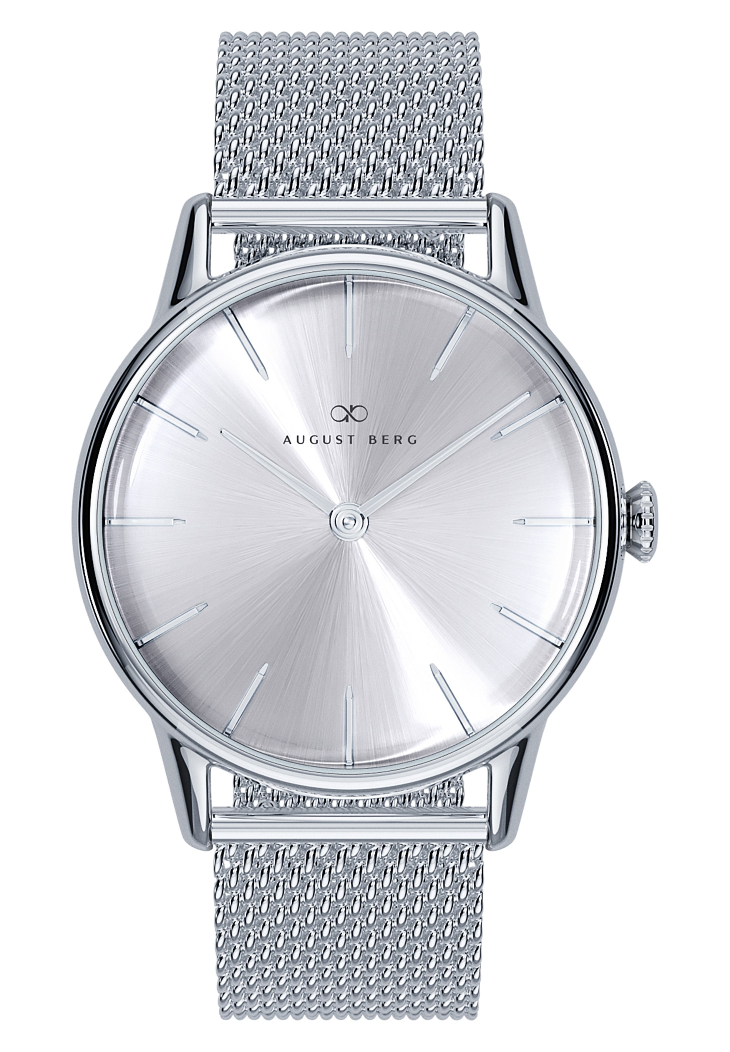 Herrer UHR SERENITY SIMPLY SILVER SILVER MESH 32MM - Ure