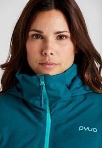 PYUA - BLISTER - Snowboard jacket - petrol blue - 4