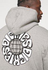 Dickies - GLOBE HOODIE - Sweatshirt - grey melange - 5