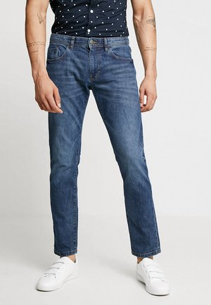 SLIM - Jeansy Slim Fit - blue dark wash