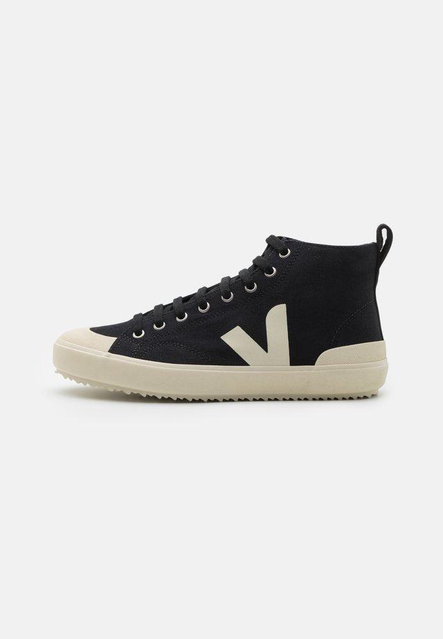 NOVA - Sneakersy wysokie - black/pierre
