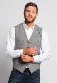 JP1880 - Waistcoat - medium grey - 0