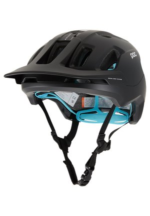 AXION SPIN - Kask - uranium black/kalkopyrit blue matt