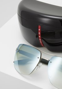 Prada Linea Rossa - Sunglasses - silver-coloured - 2