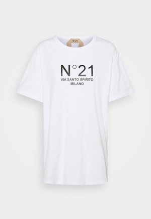 NEW LOGO TEE - Print T-shirt - white