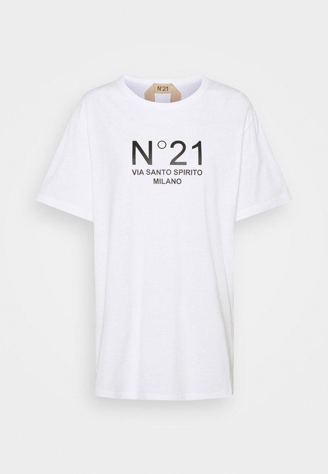 NEW LOGO TEE - T-shirt print - white