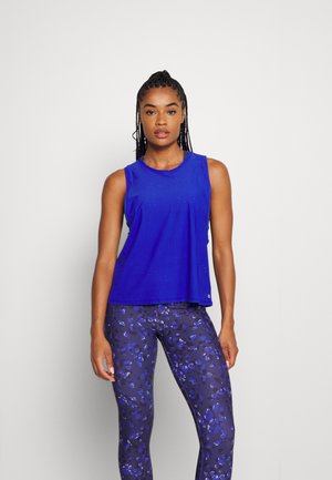 MUSCLE TANK - Top - bente blue