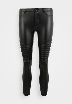 ONLROYAL-MARIA BIKER - Leggings - black