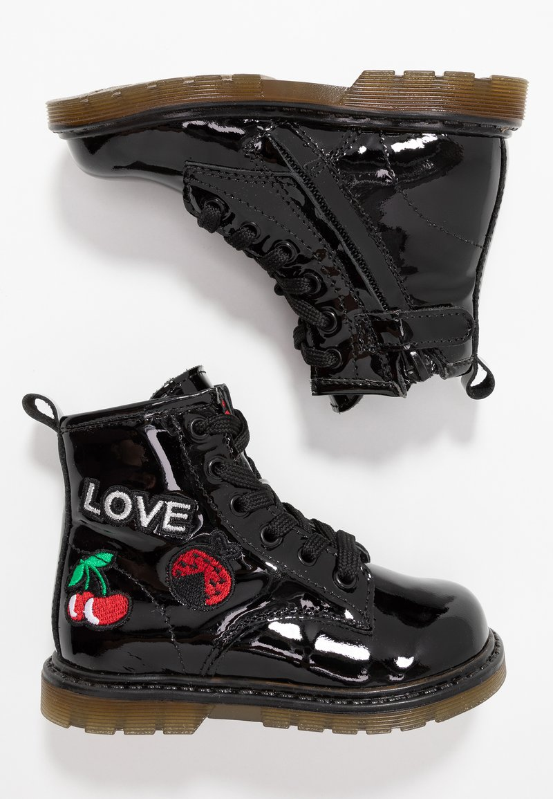 Pinocchio - Lace-up ankle boots - black