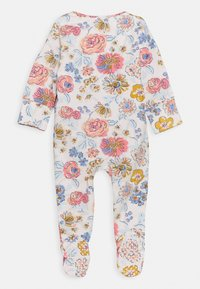 Cotton On - LONG SLEEVE ZIP ROMPER 2 PACK  - Dupačky na spaní - dusk blue annie/crystal pink matilda - 2
