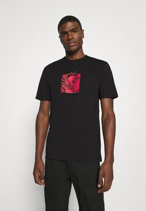 MIDFRIGHT - Print T-shirt - black