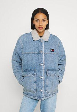 WORKER - Denim jacket - denim light
