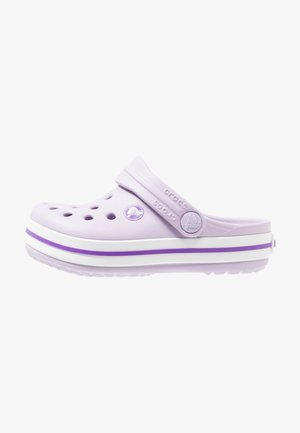 CROCBAND RELAXED FIT - Badesandaler - lavender/neon purple