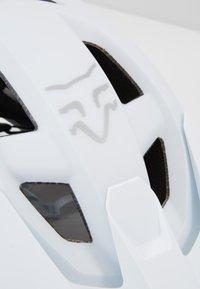 Fox Racing - SPEEDFRAME HELMET WURD - Helm - white - 5