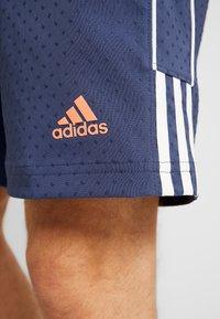 adidas Golf - COLLECTION DOBBY - Sportovní kraťasy - tech indigo - 5