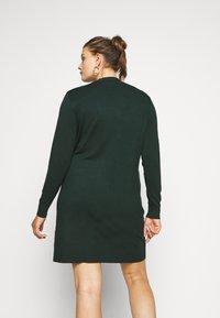 Even&Odd Curvy - Jumper dress - teal - 2