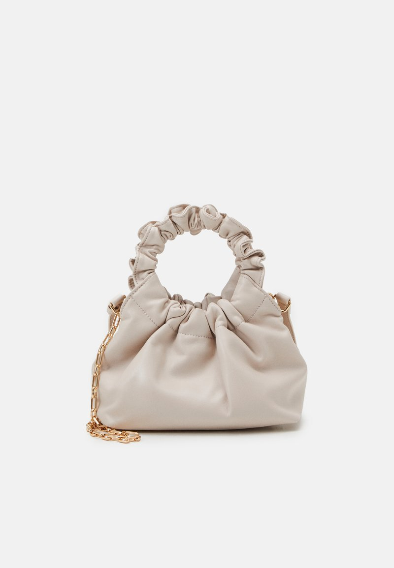 Forever New - GIA GATHERED HANDLE POUCH BAG - Bolso de mano - porcelain