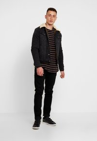 Tigha - ALISTER - Pullover - black/pale brown - 1