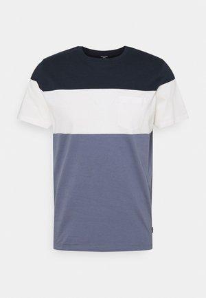 JPRBLAREPEAT TEE CREW NECK - Print T-shirt - new navy