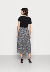 Thought - ELSIE PLEATSKIRT - A-line skirt - azure blue - 2