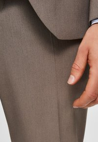 Selected Homme - SLIM FIT - Suit trousers - sand - 3