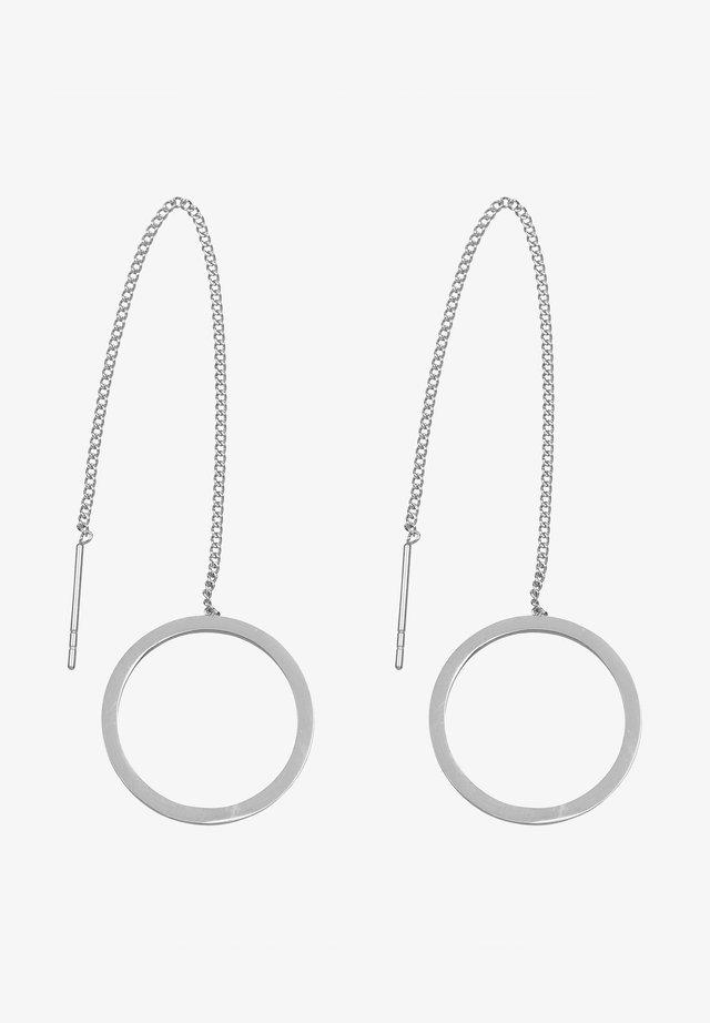Øreringe - silver